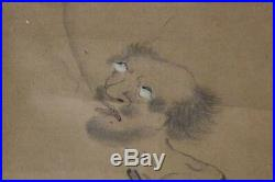 ASO44 Japanese hanging scroll hermit Watanabe Kazan # emakimono ukiyoe