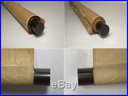 ASO75 Japanese hand-drawn scroll (on silk) Musha withbox #emakimono