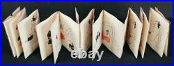 Antique Japan grotesque Shunga book painting 1800s erotic Japan art