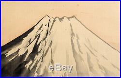 HANGING SCROLL JAPANESE KAKEJIKU / Landscape Mt. Fuji by Sosui Okada #567