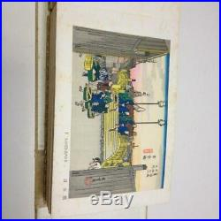 Hiroshige Woodblock Print 53 Stations of the Tokaido Picture Book From Japan