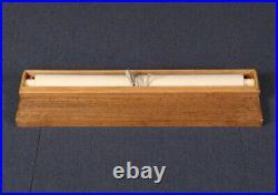 JAPANESE ART PAINTING CRANE HANGING SCROLL OLD JAPAN ANTIQUE e677