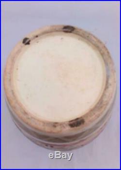 Japanese Satsuma Pottery Large Vase Hand Painted Scholars Meiji 45 cm high