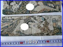 Japanese Shunga Paper 8 picture set UKIYOE Erotic woodblock print -c0414
