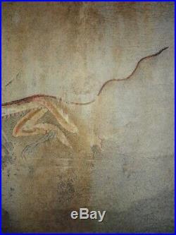 KAKEJIKU hanging scroll japanese art painting ryuno painting