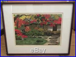 Masao IdoTekisuianJapanese woodblock prints Landscape painting design