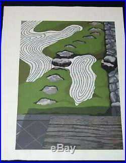 Masao IdoZuihoin III1990 Japanese Original woodblock prints Ukiyo-e
