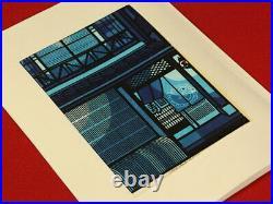 Nw1756yrEa12 Japanese woodblock print KANAZAWA HOUSE by Clifton Karhu