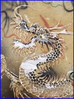 RARE Moriage Dragon Ware Dragonware 12 Relish Tray in Orig Hand Painted Box