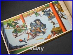 YOSHITOSHI Full Color Historical SAMURAI Ukiyoe Picture Book Japan Original VTG